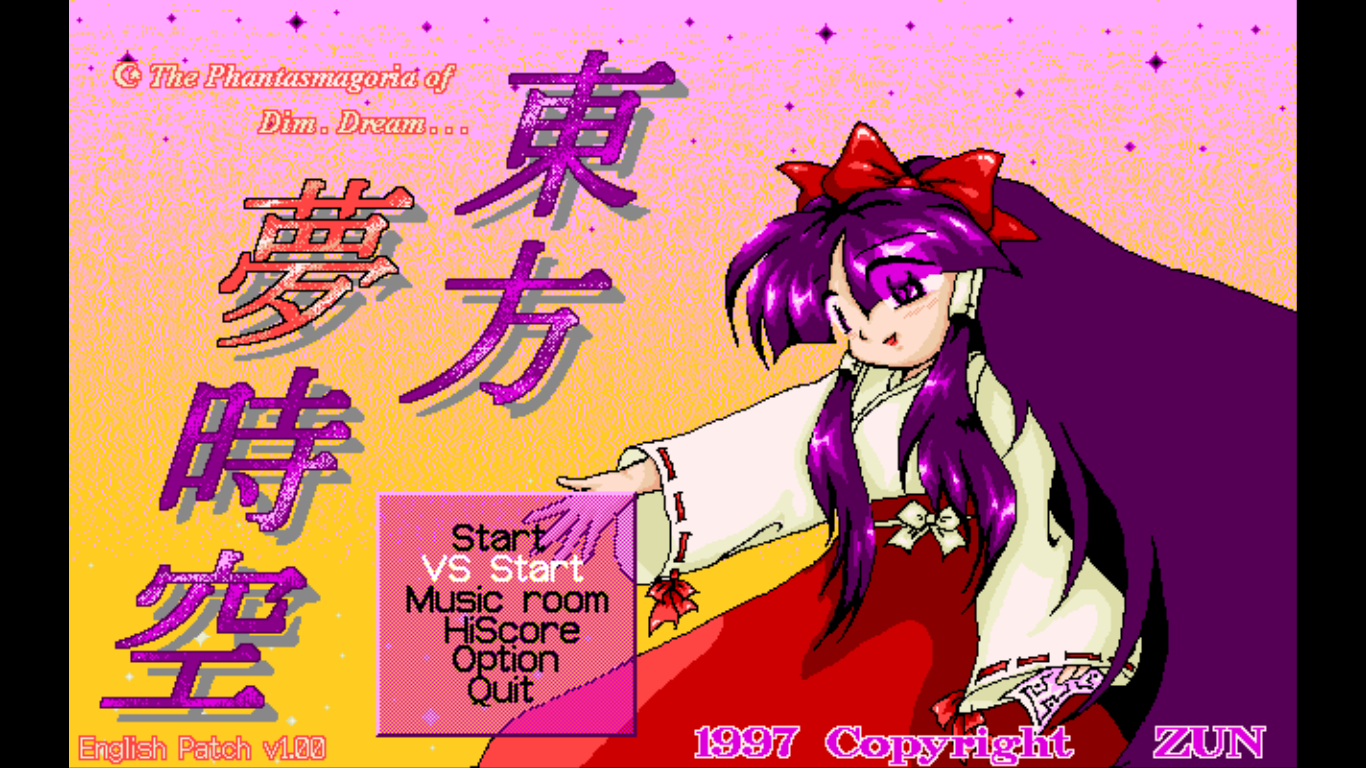 Neko Project II fmgen and PC-98 Touhou (guide now included)