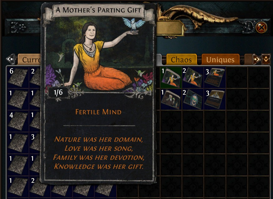 Forum - Art and Audio Feedback - Pictures on cards ? - Path of Exile