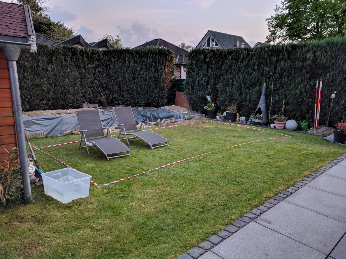 Dänisches bettenlager planschbecken