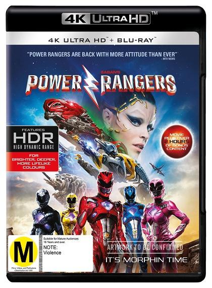 Power Rangers - 2017 - 2160p - 4K UltraHD - HDR - BluRay - x265 - Türkçe Dublaj - DuaL - TR - EN - Tek Link