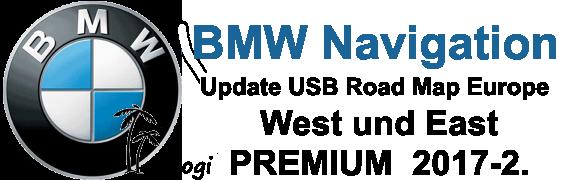 2017-2 | BMW Navigation Update Road Map Europe West und East PREMIUM ...