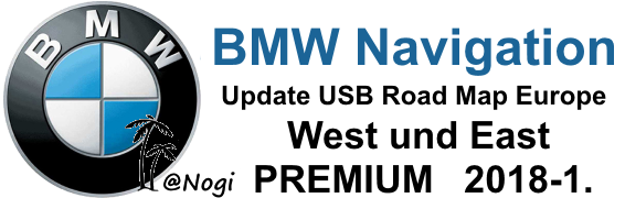 BMW Navigation Update USB Road Map Europe West -East ...