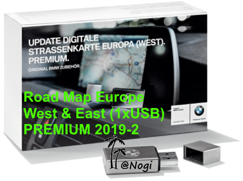 Bmw Navigation Update Usb Road Map Europe West East Premium 2019 2