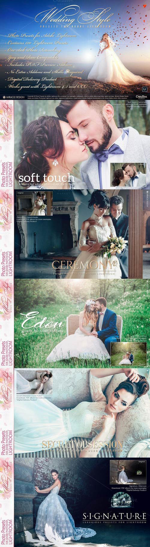 Lightroom Presets - Wedding 945011