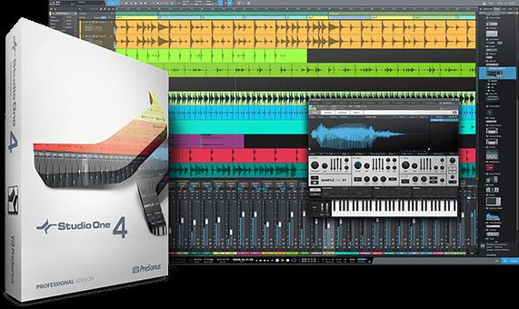 download PreSonus Studio One 4 Professional v4.0.0 MacOSX