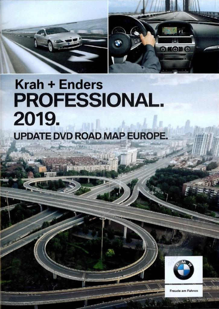 Bmw Navigation Dvd Road Map Europe Professional 2019