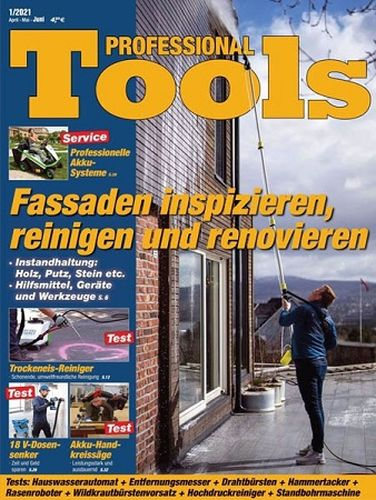 Cover: Professional Tools Testmagazin No 01 2021