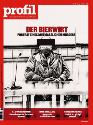 Cover: Profil Nachrichtenmagazin No 26 vom 27  Juni 2021