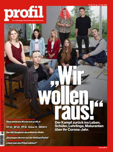 Cover: Profil Nachrichtenmagazin No 24 vom 13  Juni 2021