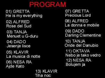 7 - NOVOGODISNJI KONCERT - 2018. - PESME U RITMU VALCERA Program8jp22