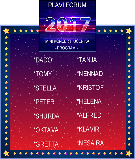 6 - NOVOGODISNJI KONCERT - 2017. - MINI KONCERTI Programzzlrw