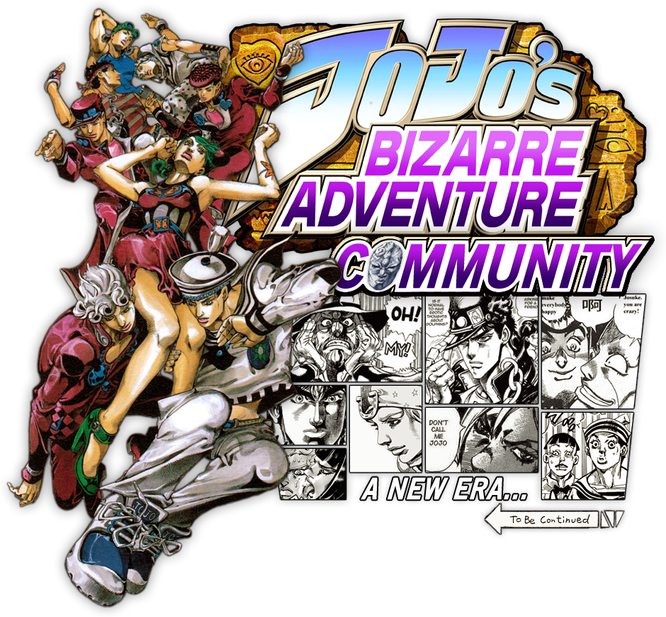 Jojo S Bizarre Adventure Era Ot Stand Up And Pose Resetera