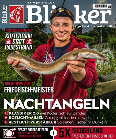 Blinker Magazin August No 08 2018