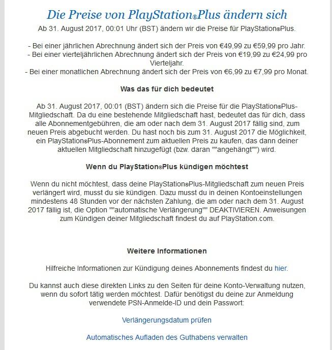 Ps Plus Preise Werden Ende August Erhöht Playstation Plus Ps4