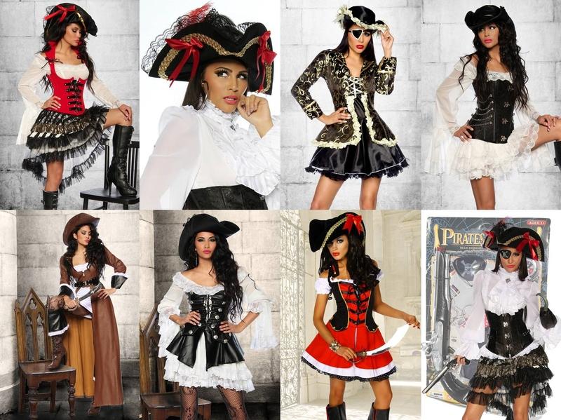 piraten braut kost m seer uber pirat damenkost m. Black Bedroom Furniture Sets. Home Design Ideas