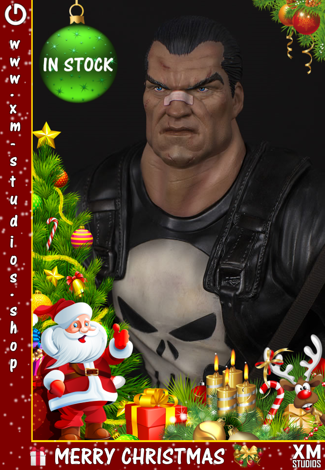 XM Studios: GHeroes Europe Christmas Special 2019 Punishermcj1y