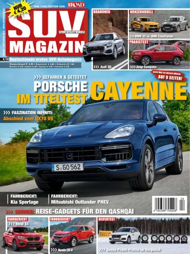:  SUV-Auto Magazin August-September No 04 2018