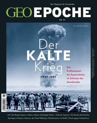 :  Geo Epoche Das Magazin für Geschichte (Der Kalte Krieg) Juni 2018