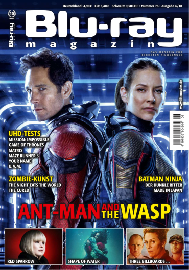 Blu-Ray Magazin Juli No 06 2018