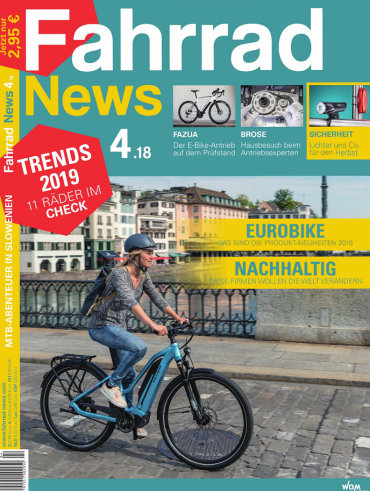 Fahrrad News Magazin August No 04 2018