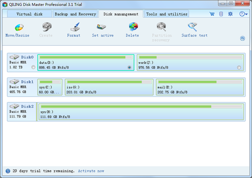 download QILING Disk Master Technician v4.6 WinPE