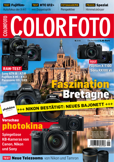 Colorfoto Magazin September No 09 2018