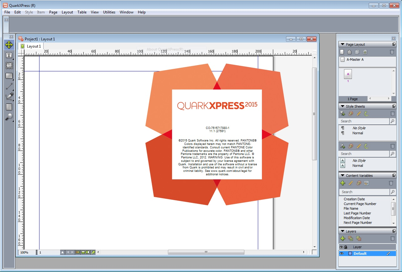 QuarkXPress 2015 v11.1