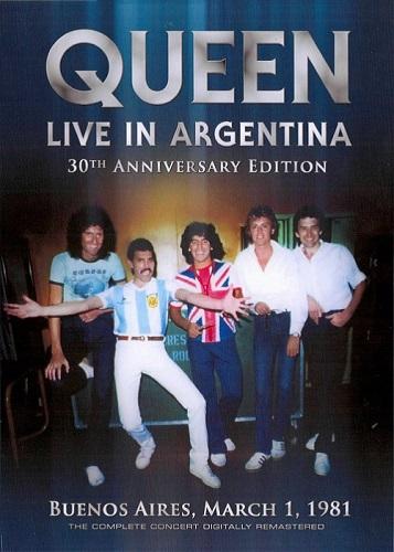 Queen - Live in Argentina 1981 [DVDRip]