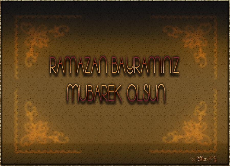 Ramazan Bayramı Grafik Kart