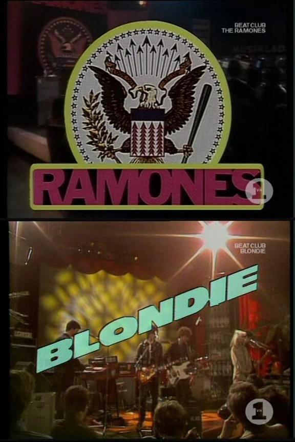 Ramones & Blondie – Live at Beat Club 1978 [TVRip]