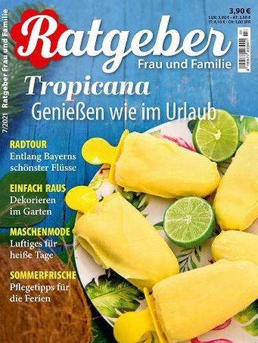 Cover: Ratgeber Frau und Familie Magazin No 07 2021