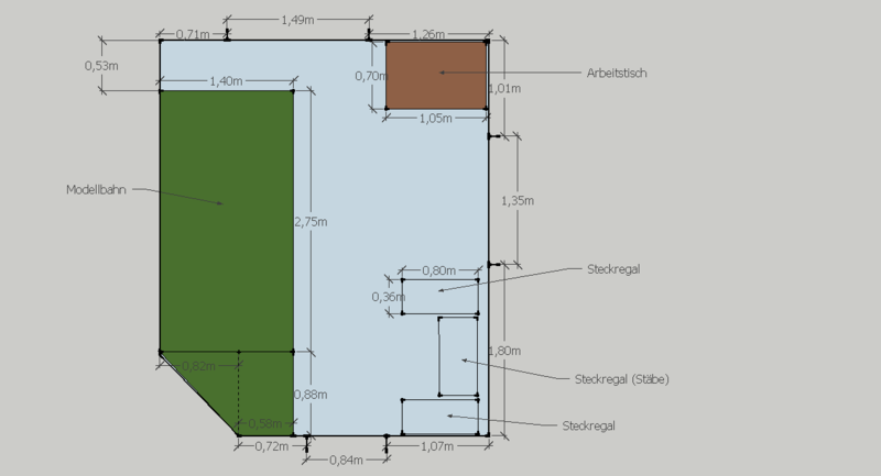 h0 nebenbahn auf 1 40x2 75m stummis modellbahnforum. Black Bedroom Furniture Sets. Home Design Ideas