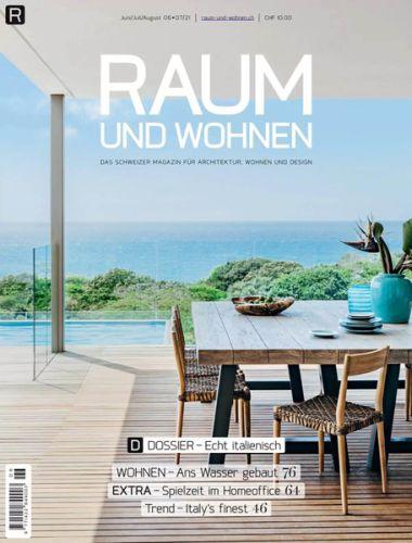 Cover: Raum und Wohnen Magazin No 06-07 Juni-August 2021