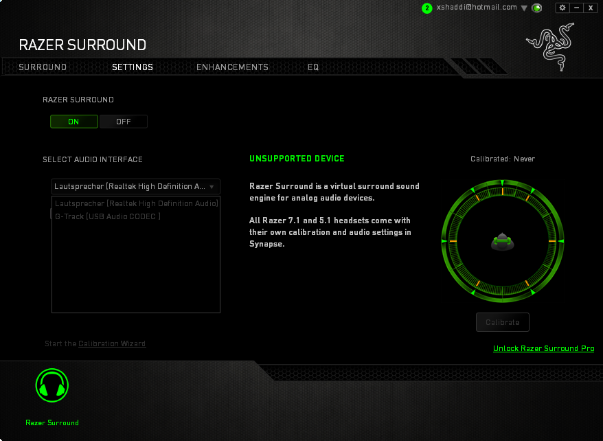 Razer Insider | Forum - Razer Surround