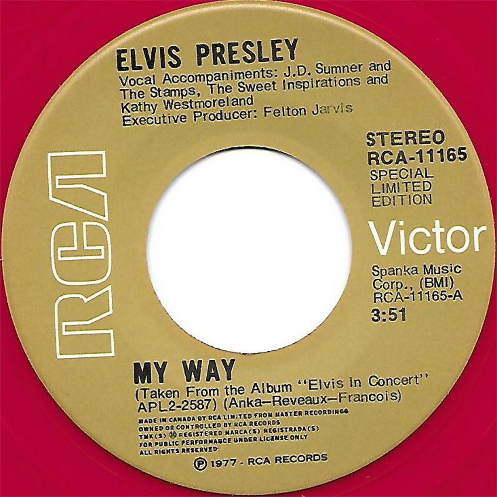 My Way  / America Rca-11165d6vdst