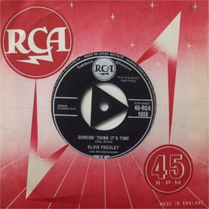Diskografie Großbritannien (U.K.) 1956 - 1963 Rca1058pfjfj