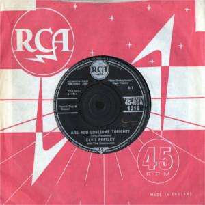 Diskografie Großbritannien (U.K.) 1956 - 1963 Rca1216ejjvf