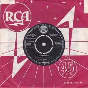 Diskografie Großbritannien (U.K.) 1956 - 1963 Rca1227zdjao