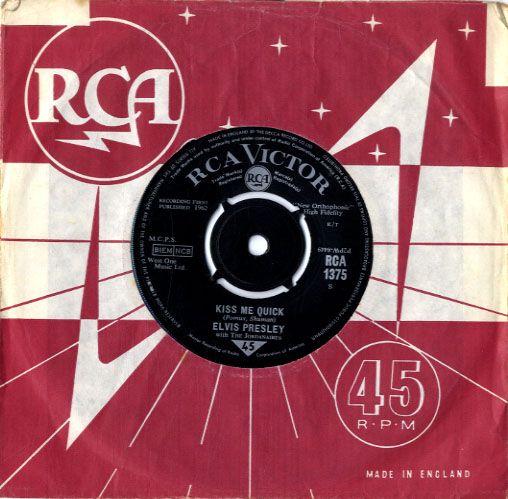 Diskografie Großbritannien (U.K.) 1956 - 1963 Rca1375m9k7n
