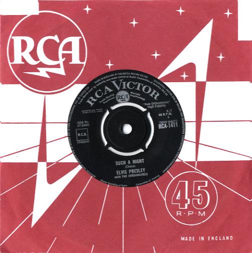 Diskografie Großbritannien (U.K.) 1956 - 1963 Rca1411l5kg7