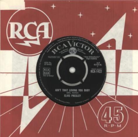 Diskografie Großbritannien (U.K.) 1956 - 1967 Rca1422fqjf2