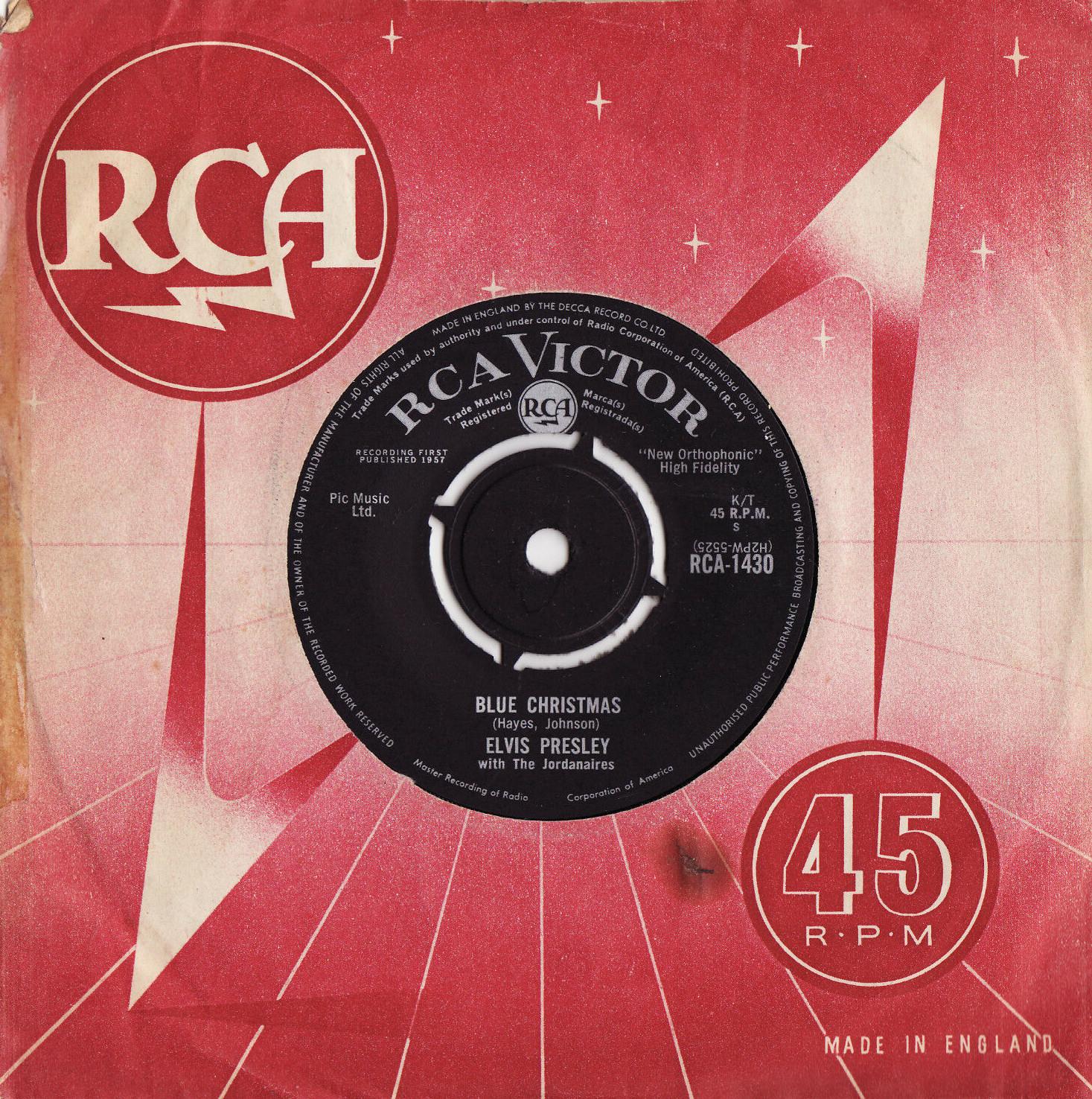 Diskografie Großbritannien (U.K.) 1956 - 1967 Rca1430clju6
