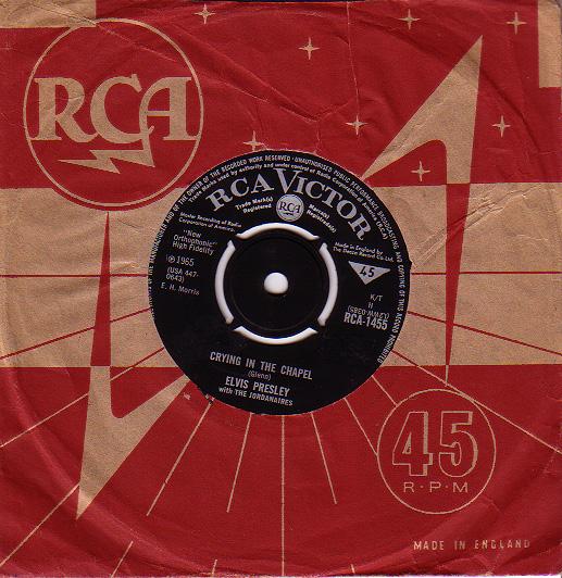 Diskografie Großbritannien (U.K.) 1956 - 1967 Rca1455mukik