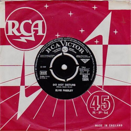 Diskografie Großbritannien (U.K.) 1956 - 1967 Rca1504djjis