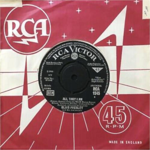 Diskografie Großbritannien (U.K.) 1956 - 1967 Rca154532j91