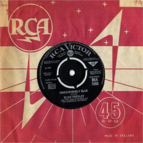 Diskografie Großbritannien (U.K.) 1956 - 1967 Rca1565zfkwt