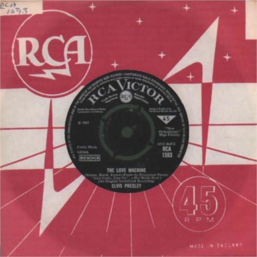 Diskografie Großbritannien (U.K.) 1956 - 1967 Rca1593agk99