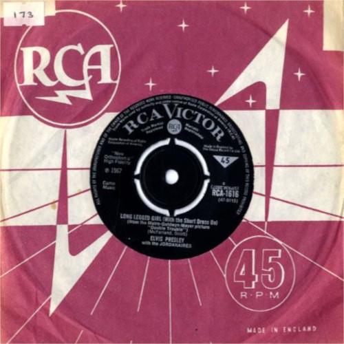 Diskografie Großbritannien (U.K.) 1956 - 1967 Rca161681j7k