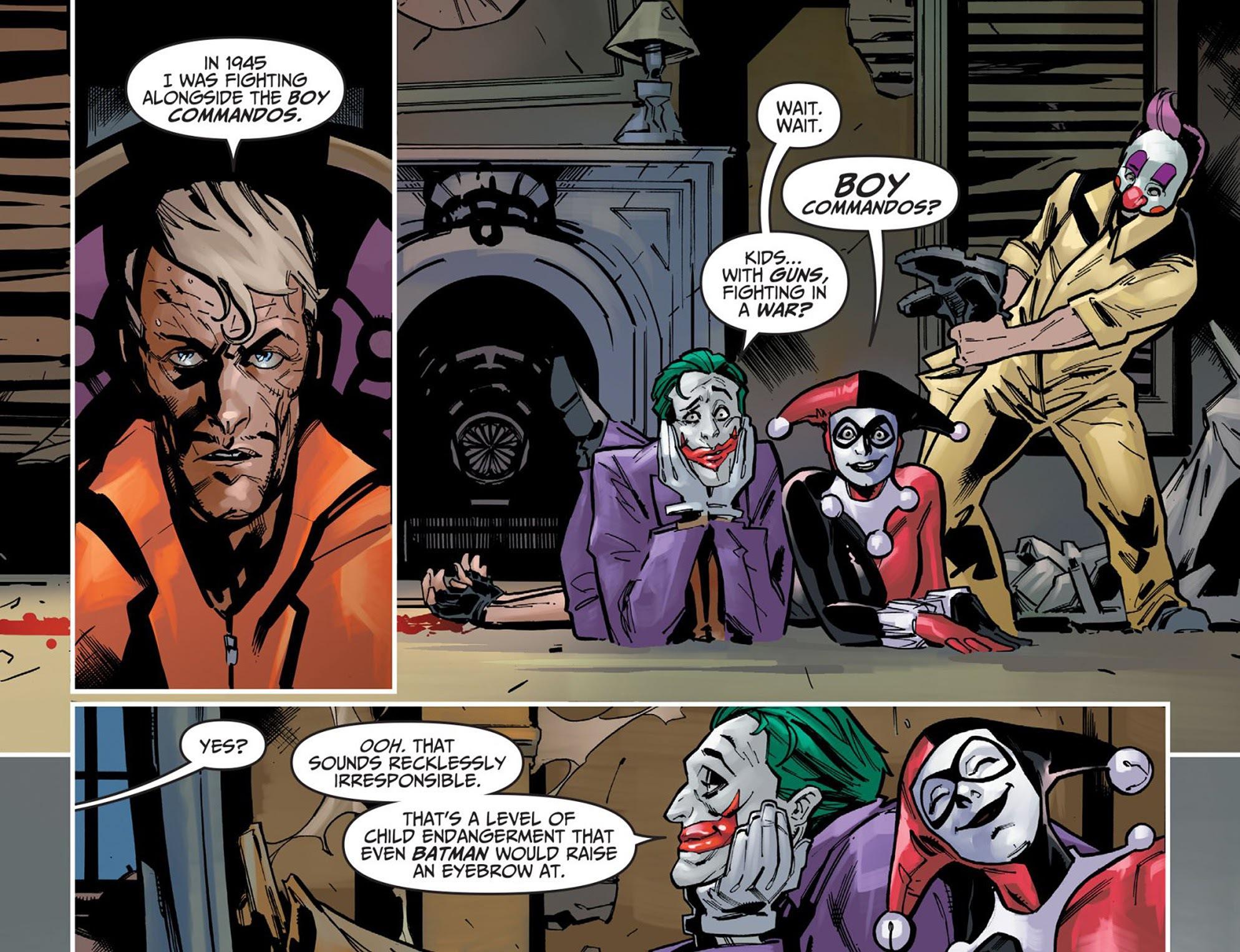 Scans Daily The Joker On Nazis