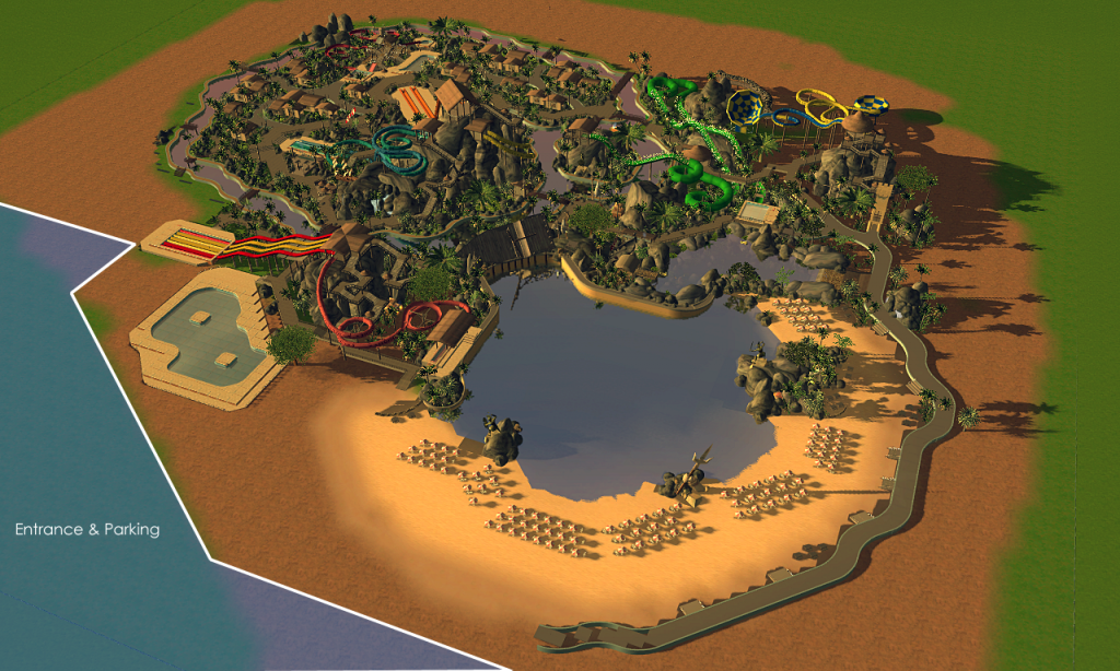 Looking to make a realistic waterpark and came across this